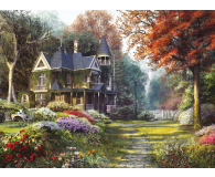 Clementoni Puzzle HQ  Victorian garden - 417123 - zdjęcie 2