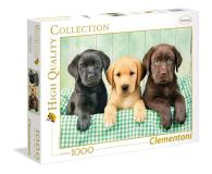 Clementoni Puzzle HQ  I tre Labrador - 417220 - zdjęcie 1