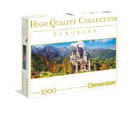 Clementoni Puzzle Panorama HQ  Neuschwanstein - 417225 - zdjęcie 1