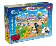 Lisciani Giochi Disney dwustronne Maxi 108 el. Myszka Mickey v2 - 417774 - zdjęcie 1