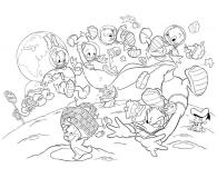 Lisciani Giochi Disney dwustronne Maxi 108 el. Mickey - 418106 - zdjęcie 3