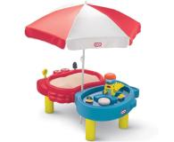 Little Tikes Piaskownica Wodny Stół + parasol - 421978 - zdjęcie 1