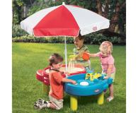 Little Tikes Piaskownica Wodny Stół + parasol - 421978 - zdjęcie 3