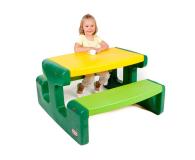 Little Tikes Duży stolik piknikowy zielony - 422003 - zdjęcie 1