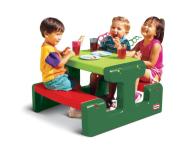 Little Tikes Mały stolik ogrodowy dla dzieci zielony - 422004 - zdjęcie 1
