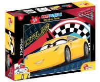 Lisciani Giochi Disney dwustronne Maxi 35 el. Auta 3 - 419326 - zdjęcie 1