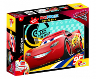 Lisciani Giochi Disney dwustronne Maxi 108 el. Auta 3 - 419319 - zdjęcie 1