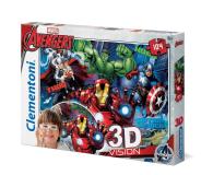 Clementoni Puzzle Disney 3D Vision Avengers 104 el. - 417294 - zdjęcie 1