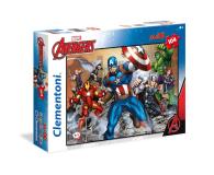 Clementoni Puzzle Disney Maxi Super Kolor The Avengers 104 el. - 417308 - zdjęcie 1