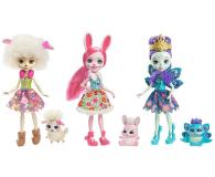 Mattel Enchantimals Trzypak Lalki ze Zwierzątkami - 421667 - zdjęcie 1