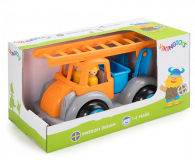 Viking Toys Straż Pożarna z figurkami Jumbo Fun Colors GIFTBOX - 416497 - zdjęcie 1