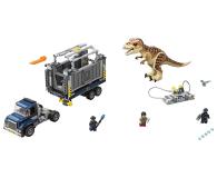 LEGO Jurassic World transport T. Rexa - 430472 - zdjęcie 2
