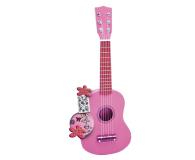 Bontempi PLAY Gitara drewniana 55 CM różowa z naklejkami - 415430 - zdjęcie 1
