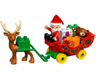 LEGO DUPLO Zimowe ferie Świętego Mikołaja - 383989 - zdjęcie 4