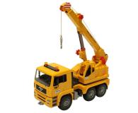 Bruder Dźwig MAN TGA 02754 z żółtym kaskiem - 435177 - zdjęcie 2