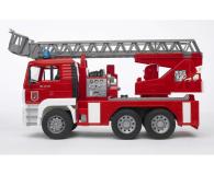 Bruder Zestaw MAN Straż pożarna + czerwony kask - 435178 - zdjęcie 2