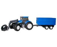 Bruder Traktor New Holland TG 285 z ładowarką i przyczepą - 435179 - zdjęcie 1
