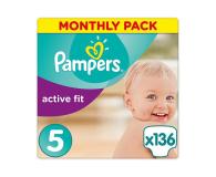 Pampers Active Fit 5 Junior Na Miesiąc 136szt - 439025 - zdjęcie 1