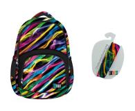 Majewski ST.Right Plecak szkolny New Illusion BP-23  - 421786 - zdjęcie 1