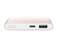 Xiaomi Power Bank Pro 10000 mAh 2A (złoty) - 435004 - zdjęcie 3