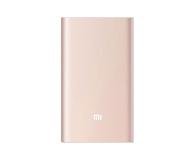 Xiaomi Power Bank Pro 10000 mAh 2A (złoty) - 435004 - zdjęcie 1