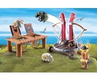 PLAYMOBIL Pyskacz Gbur z katapultą do owiec - 440761 - zdjęcie 3