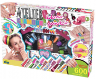 Zabawka plastyczna / kreatywna Dromader Atelier Glamour Kolorowe Paznokcie