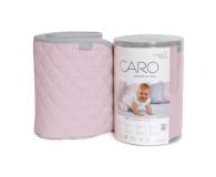 Ceba Baby Kocyk dziecięcy 90x100 CARO różowy - 442053 - zdjęcie 1