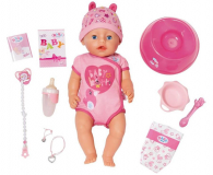 Zapf Creation Baby Born lalka interaktywna Nowa - 442796 - zdjęcie 1