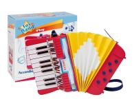 Bontempi Akordeon 17 klawiszy, 6 przycisków basowych - 443131 - zdjęcie 1