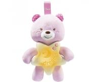 Chicco Miś Na Dobranoc Różowy - 449814 - zdjęcie 1