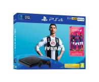 Sony Playstation 4 Slim 500GB + FIFA 19 - 436878 - zdjęcie 1