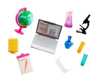 Barbie Nauczycielka Lalka + akcesoria - 471328 - zdjęcie 2