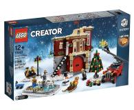 LEGO Creator Remiza strażacka w zimowej wiosce - 474674 - zdjęcie 1