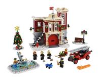 LEGO Creator Remiza strażacka w zimowej wiosce - 474674 - zdjęcie 2