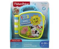 Fisher-Price Książeczka Liczymy zwierzątka - 471607 - zdjęcie 3