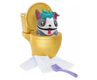 Mattel Pooparoos Toaleta żółta z niespodzianką  - 474039 - zdjęcie 3