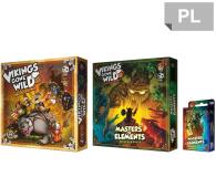 Games Factory Vikings gone Wild - zestaw podstawka + dodatki - 446243 - zdjęcie 1