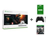 Microsoft Xbox One S 1TB SotTR+ GOW4 + Pad + 3M Xbox Live - 475442 - zdjęcie 1