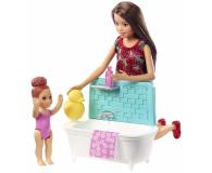 Barbie Skipper Zestaw Opiekunka z wanną - 476753 - zdjęcie 2