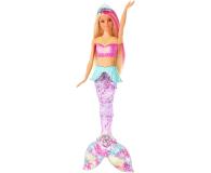 Barbie Dreamtopia Magiczna syrenka rusza i świeci ogonem - 471296 - zdjęcie 3