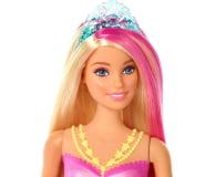 Barbie Dreamtopia Magiczna syrenka rusza i świeci ogonem - 471296 - zdjęcie 4