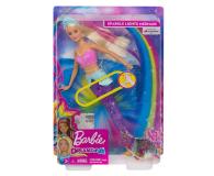 Barbie Dreamtopia Magiczna syrenka rusza i świeci ogonem - 471296 - zdjęcie 7
