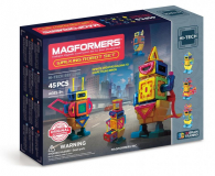 Magformers Walking Robot 45 El. - 471347 - zdjęcie 1