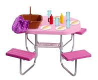 Barbie Mebelki ogrodowe Stół piknikowy - 471423 - zdjęcie 1