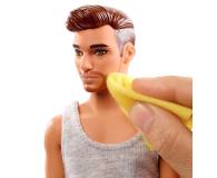 Barbie Ken zestaw z umywalką - 471448 - zdjęcie 2