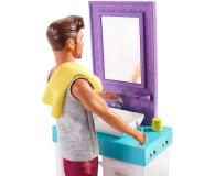 Barbie Ken zestaw z umywalką - 471448 - zdjęcie 7
