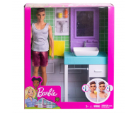 Barbie Ken zestaw z umywalką - 471448 - zdjęcie 8