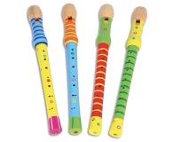 Bontempi Play Drewniany Kolorowy Flet - 471436 - zdjęcie 2