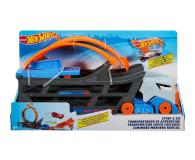 Hot Wheels Ciężarówka z pętlą + samochodzik - 471640 - zdjęcie 1